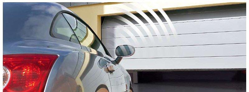 We service and install garage door openers